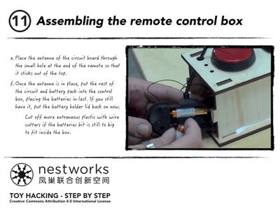 Assembling the Remote Control Box