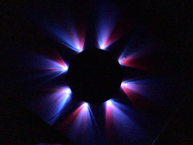LED Star Beam Clock