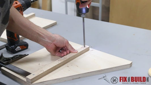 Add Supports to the Side Then Assemble the Sides and Back