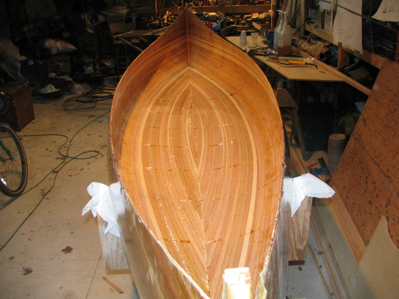 Remove Hull From Molds and Flip