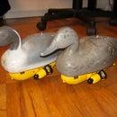 R/C Paradox - a pair of radio controlled duck decoys