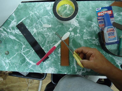 Cut and Glue the Small Brush