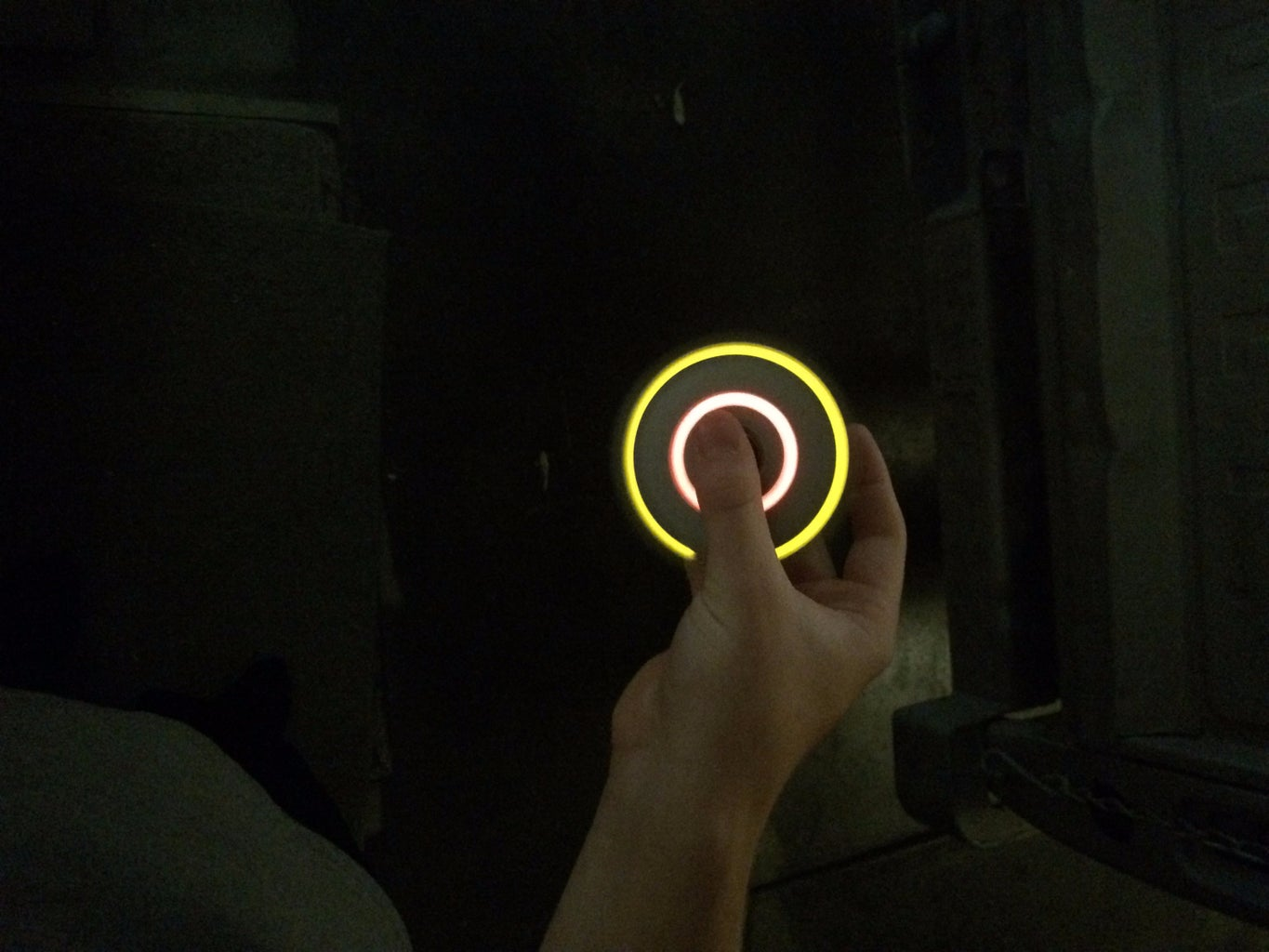 LED Fidget Spinner Made Out of Paper!