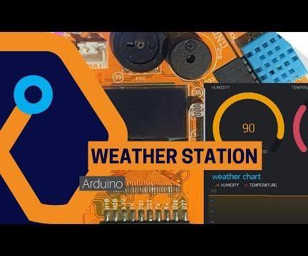 WIFI Weather Station With Magicbit(Arduino)