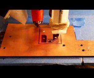 3D Printer PCB Etching