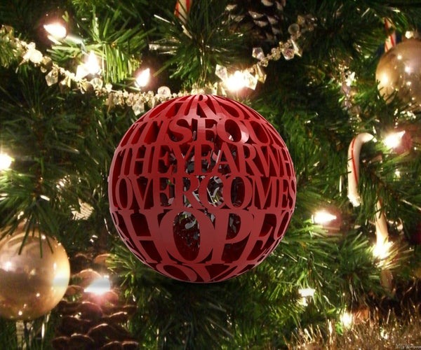 A Christmas State of Mind Ornament