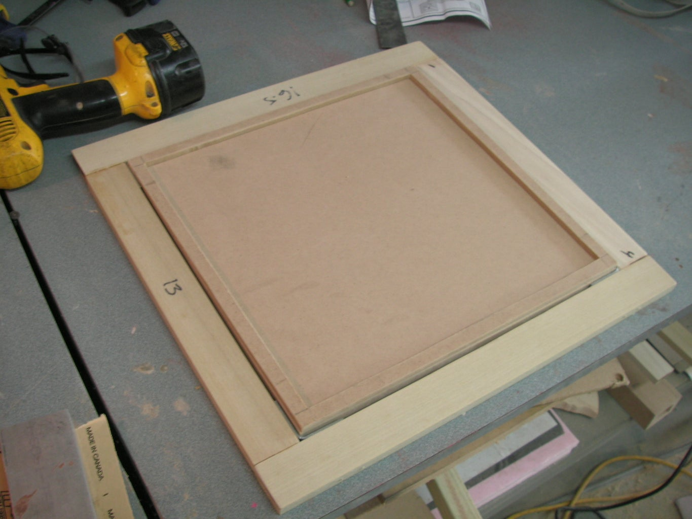 Add a Frame to Hold Your Plastic