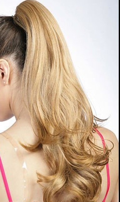 How To Get A Curly Ponytail