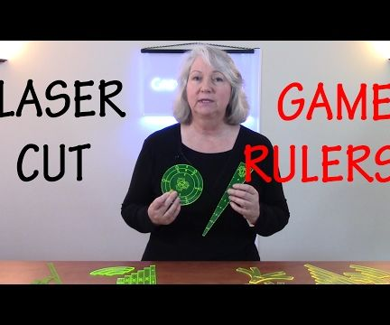 How to Design and Laser Cut Accurate Game Rulers