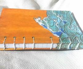 DIY Coptic Stitch Bound Notebook
