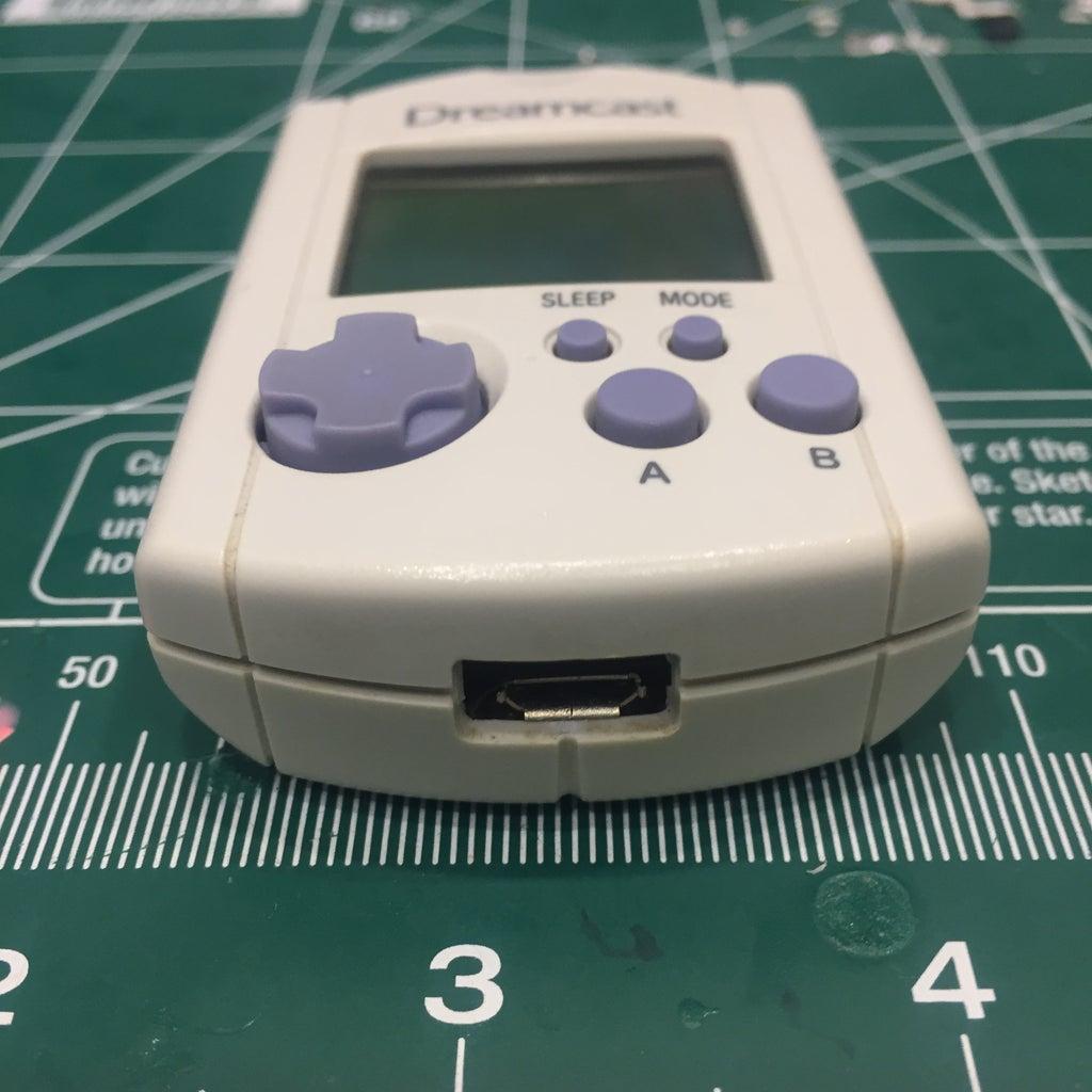 Dreamcast VMU LiPo Upgrade