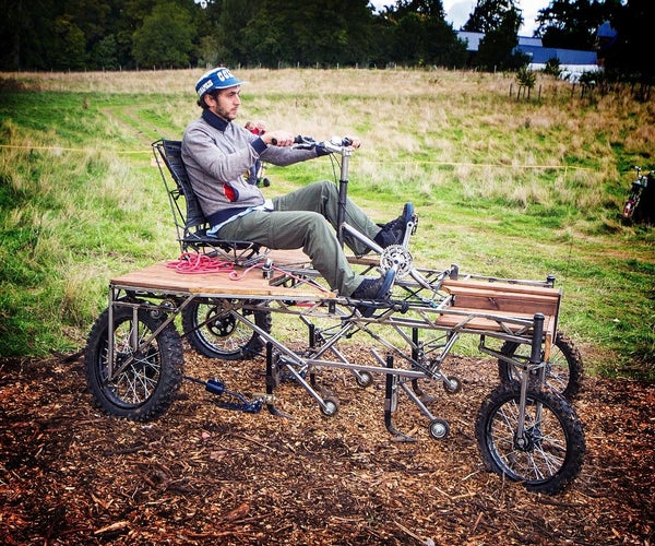 BICITRACTOR B300 (POC21 Version, Wait for the Next Version in February If You Want to Build One)