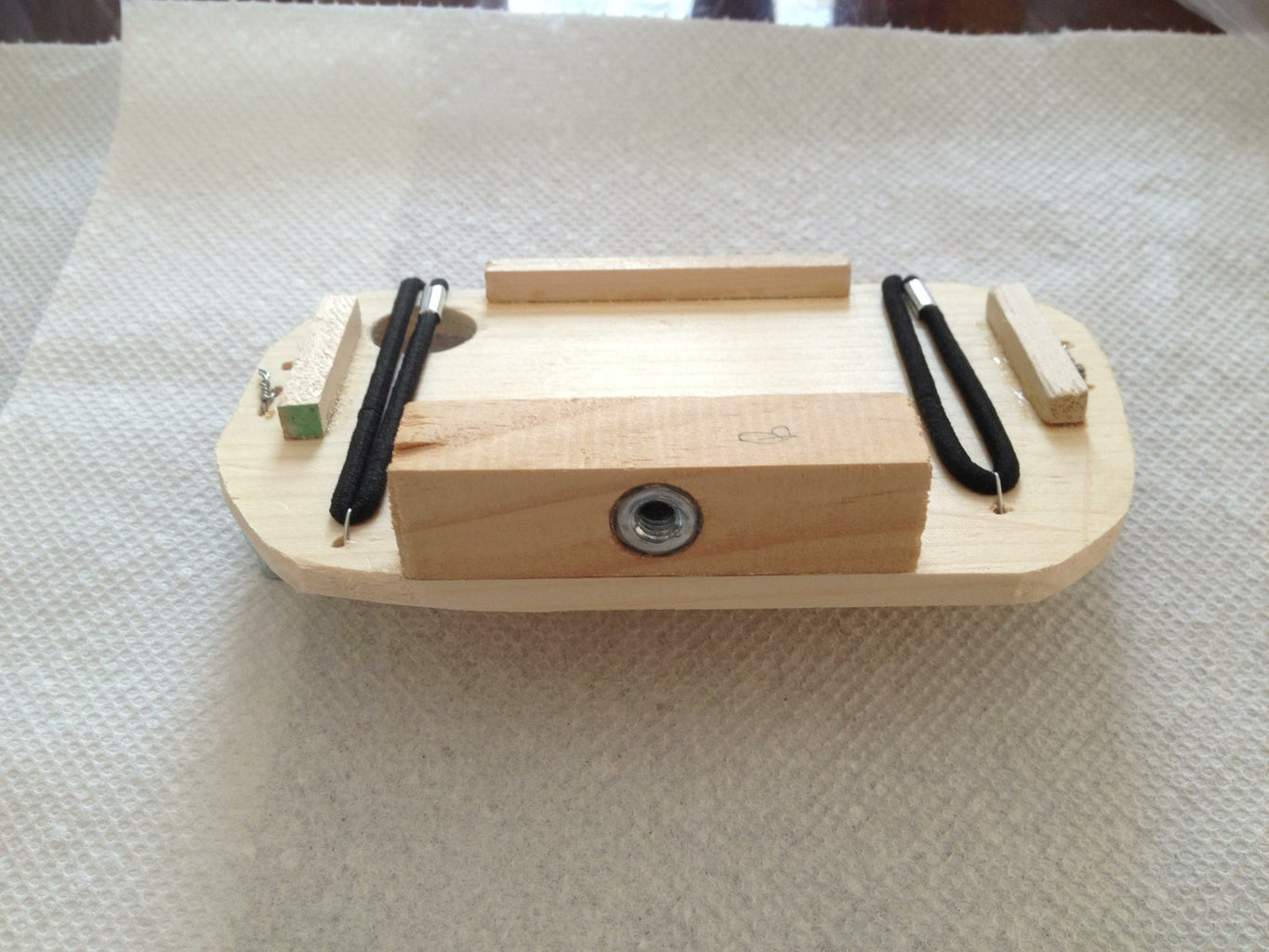 Making the Camera Adapter Plate...