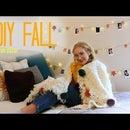 5 Fall Room Decor Diy!!