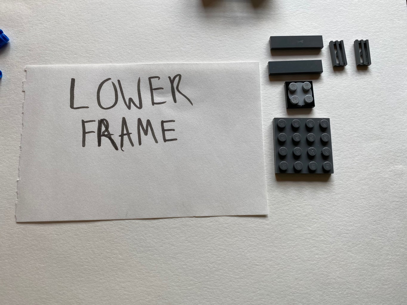 Build the Lower Frame