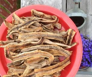 Dried Bananas Splits