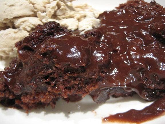 Crock Pot Molten Lava Cake