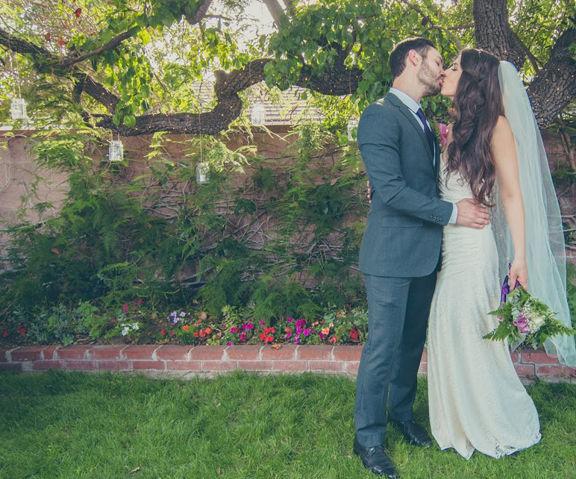 Transform a Backyard for a DIY Wedding