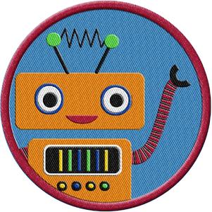 Robotics Acheivement Patch