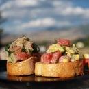 Tuna and Watermelon Ceviche