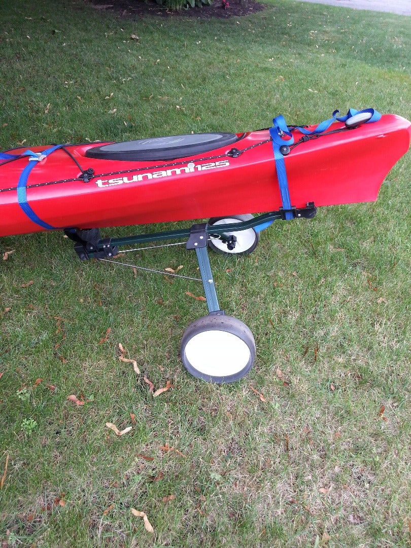 Turn a Golf Cart Into Kayak Dolly