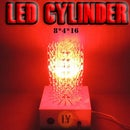 "MAKE a HUGE LED CYLINDER "" 8 X 4 X 16 """