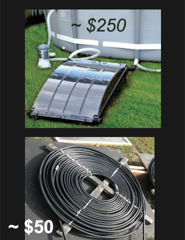 Pool Solar Heater or Optical Illusion for Entertainment