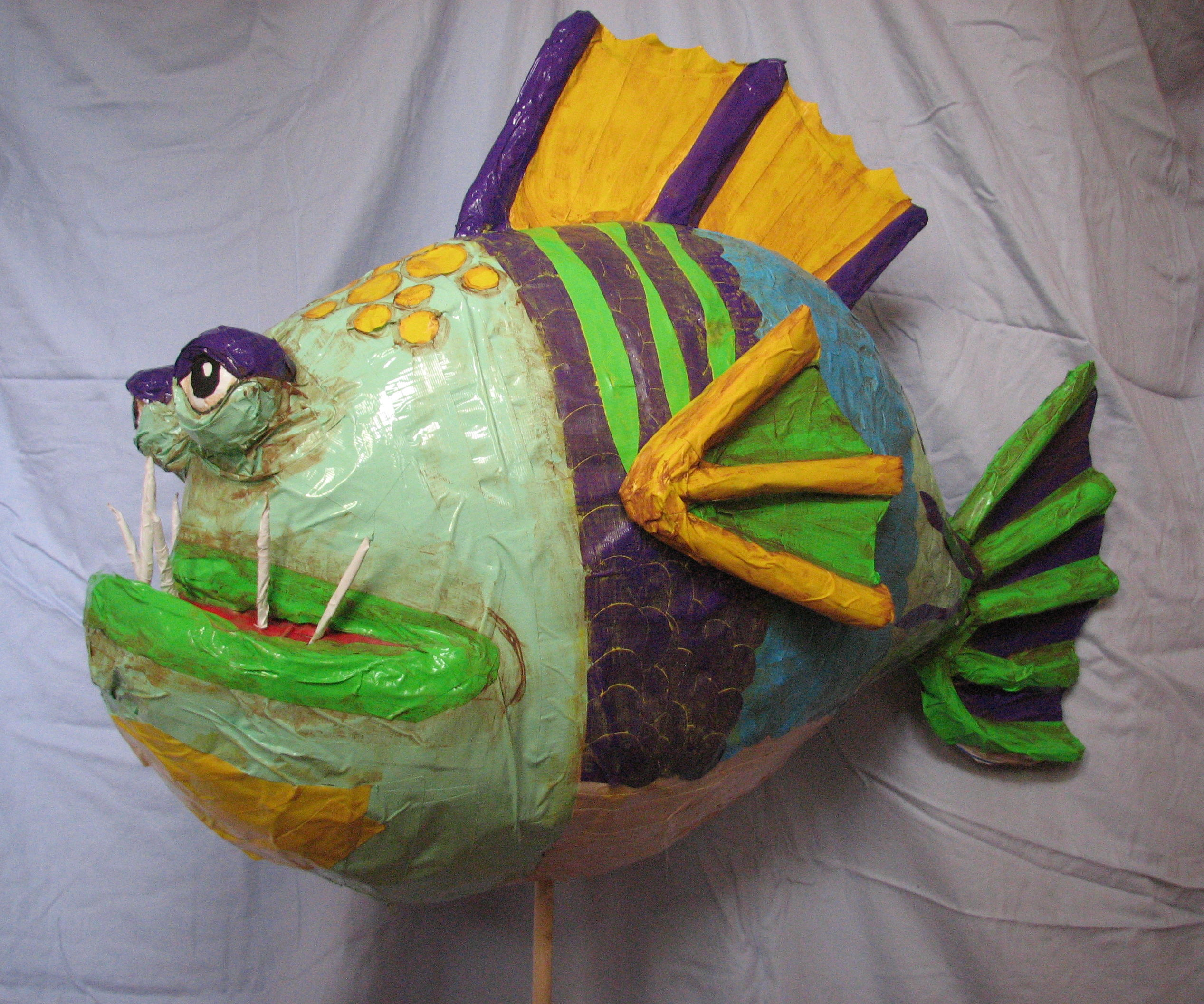 Giant Duct Tape Fish