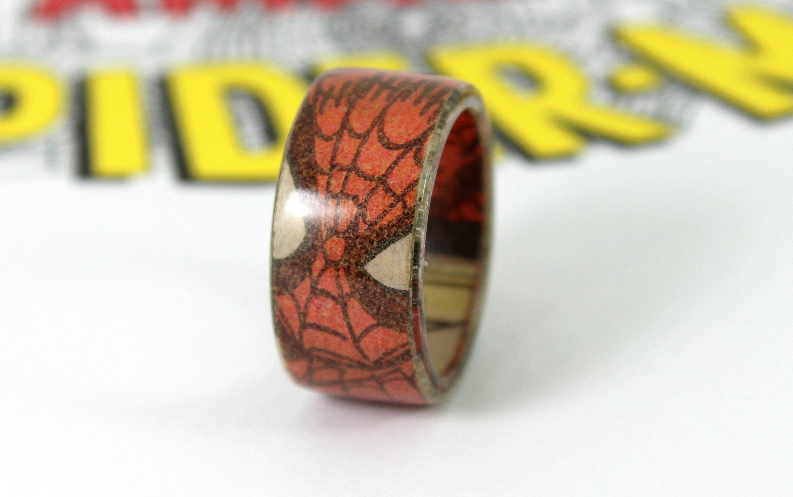 The Finished Spiderman Ring