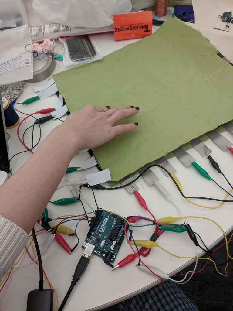 Make a Pressure Sensor Matrix