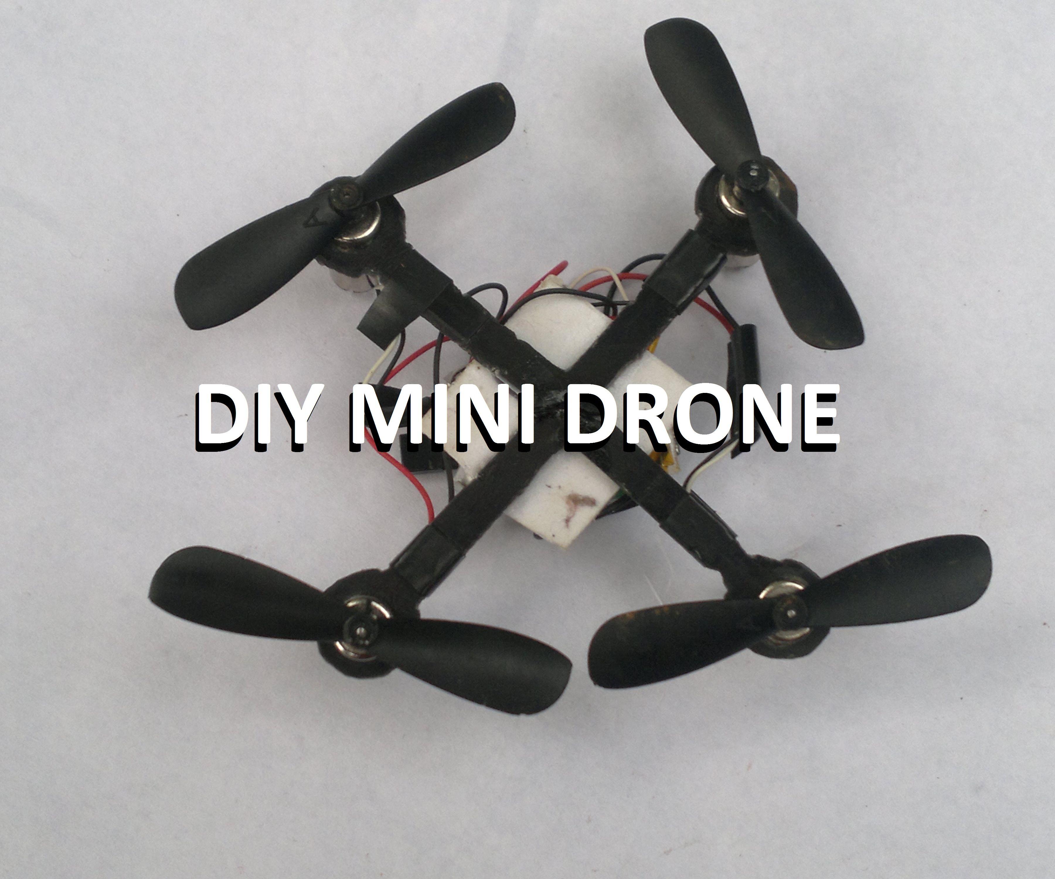 Make Mini Drone (Simple and Cheap)....!