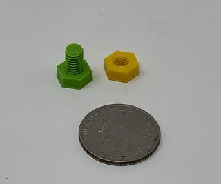 """The """"Nuts and Bolts"""" of How I Design, 3D Print and Prepare Nuts and Bolts."""