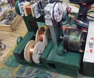Coil Winder (Automatic) - Bobinadeira Automatizada