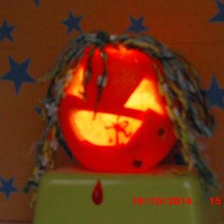 Mini Jack O Lanterns (from Oranges)