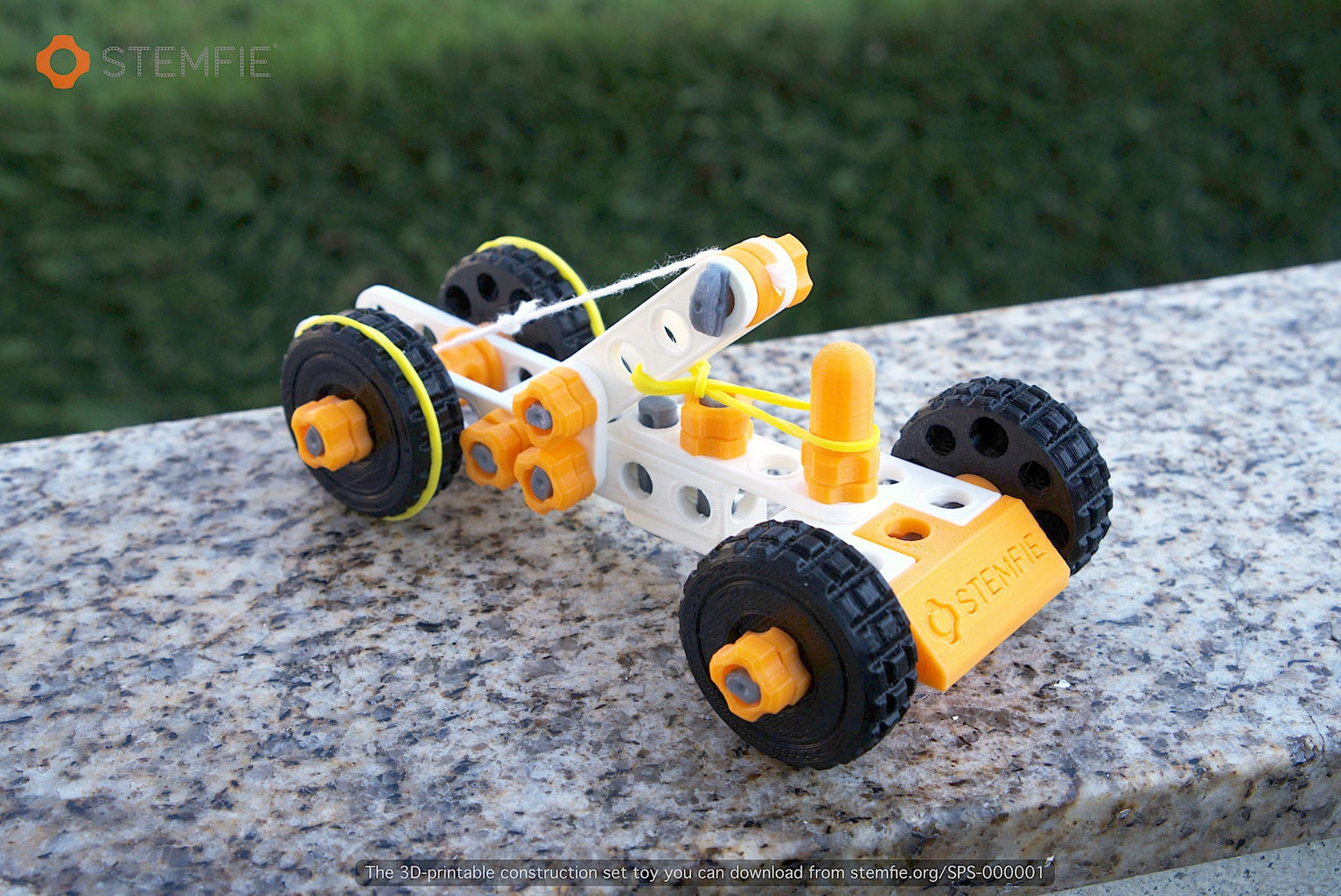 The Final Assembled STEMFIE Car