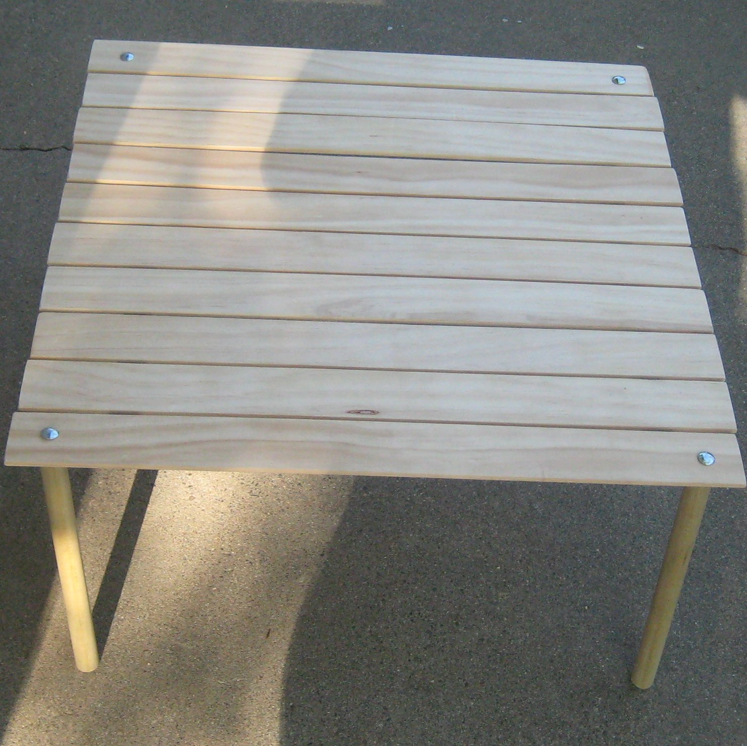 Make A Collapsable Table For Concerts In The Park 13 Steps With Pictures Instructables