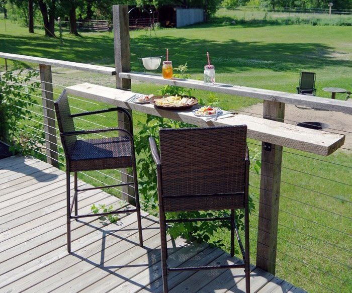 Bar Top Deck Railing