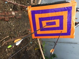 Diy Archery Target Bag 4 Steps With Pictures Instructables The oldest geekling has been a fan of archery for several years now. diy archery target bag 4 steps with