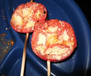 Grilled Tomatoes on a Stick