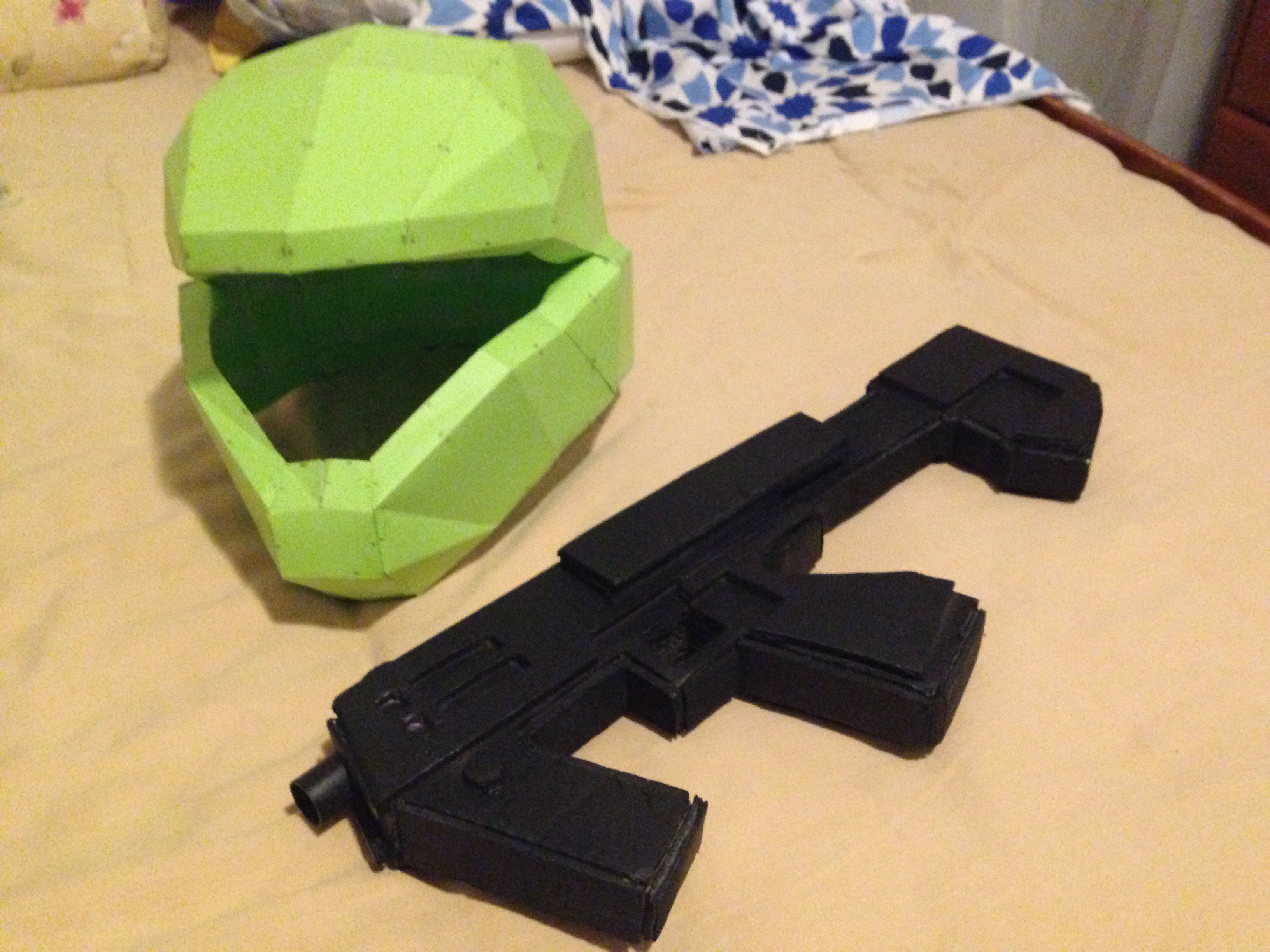 How To Make A Halo M7 Sub machine Gun Prop