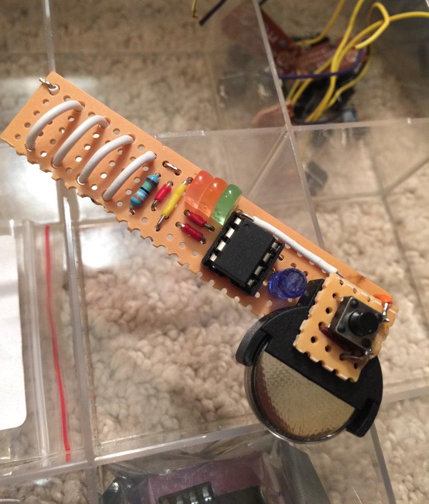 ATTiny EMF Detector
