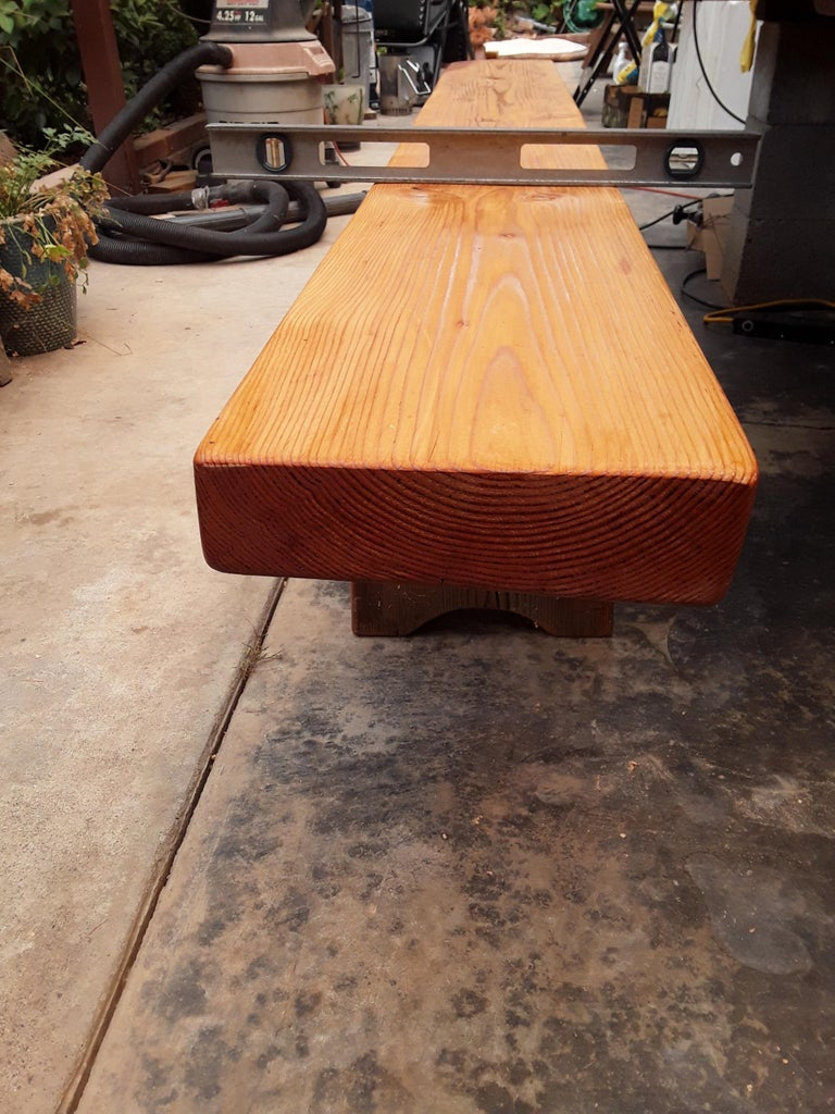 Finish the Bench Top