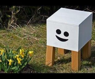 Smiling Bedside Table Build