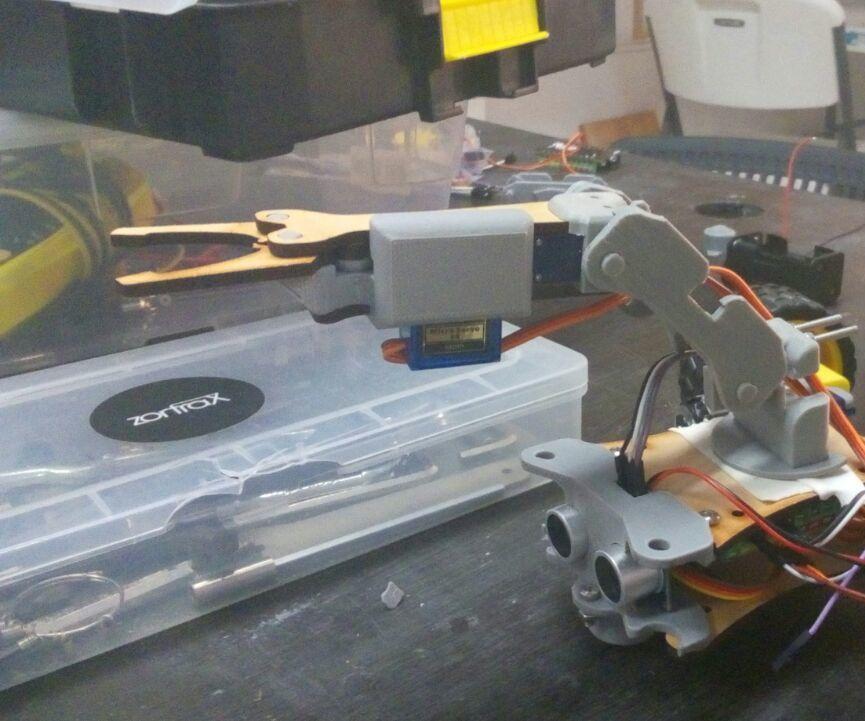 Tesla Kit Brazo robótico