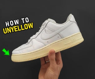 How to Unyellow Your Sneaker Sole