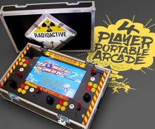 4 Player Portable Arcade Machine