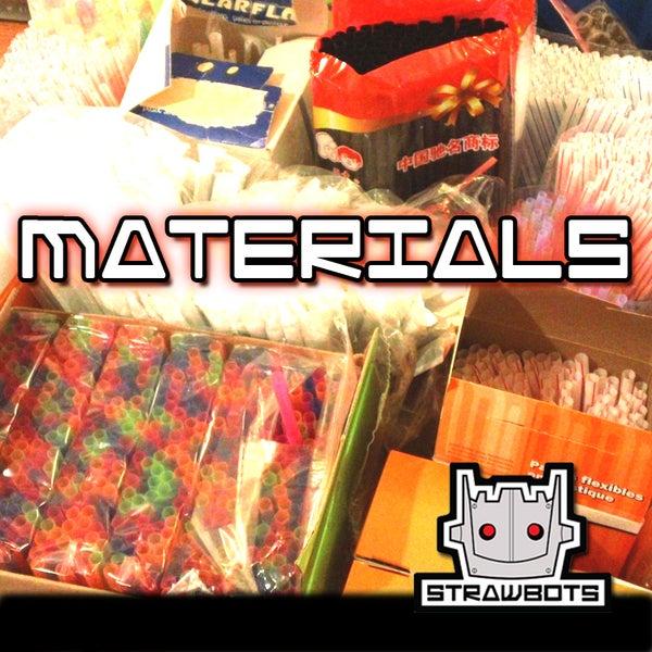 STRAWBOTS: Materials