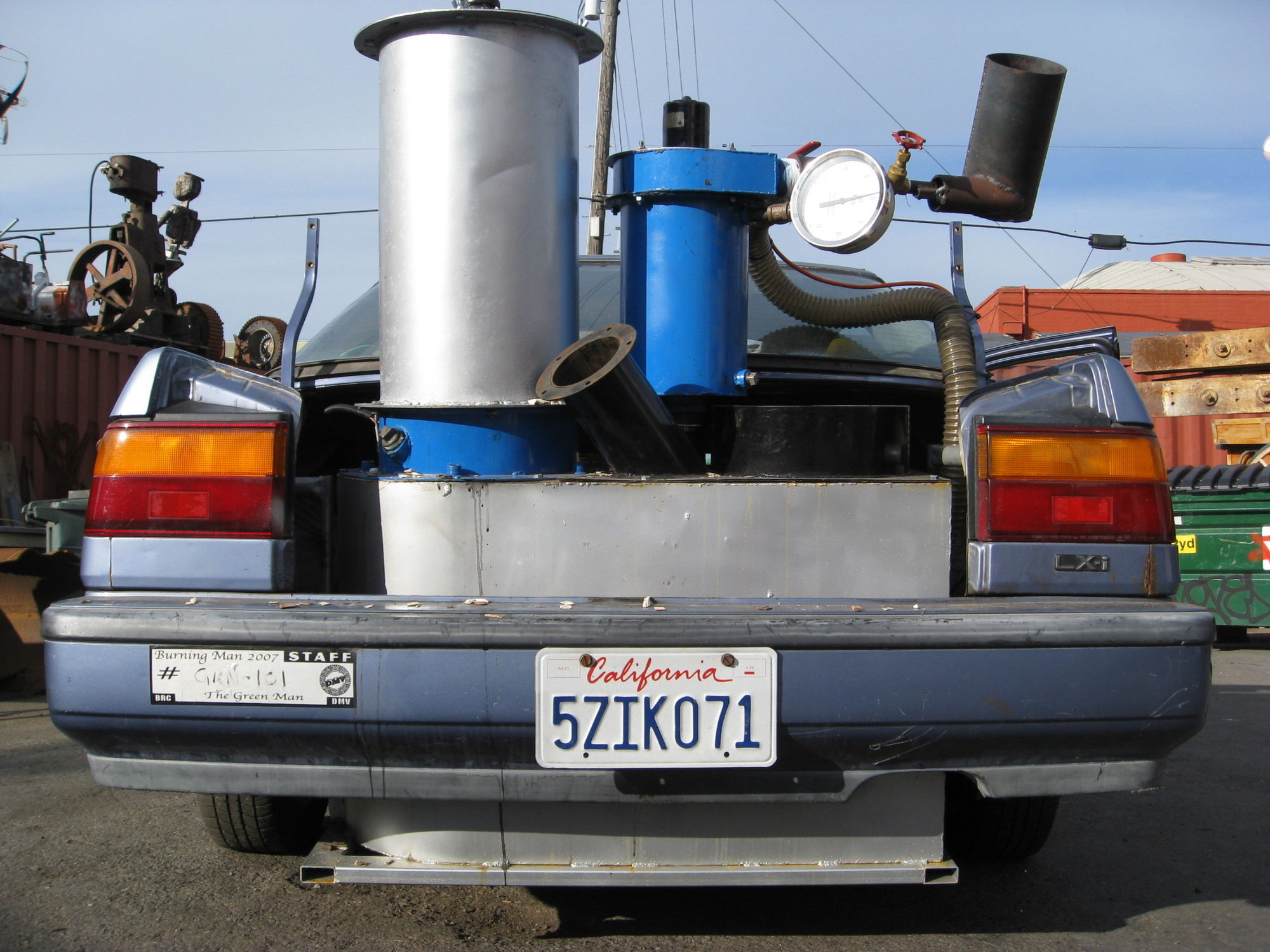 Convert your Honda Accord to run on trash