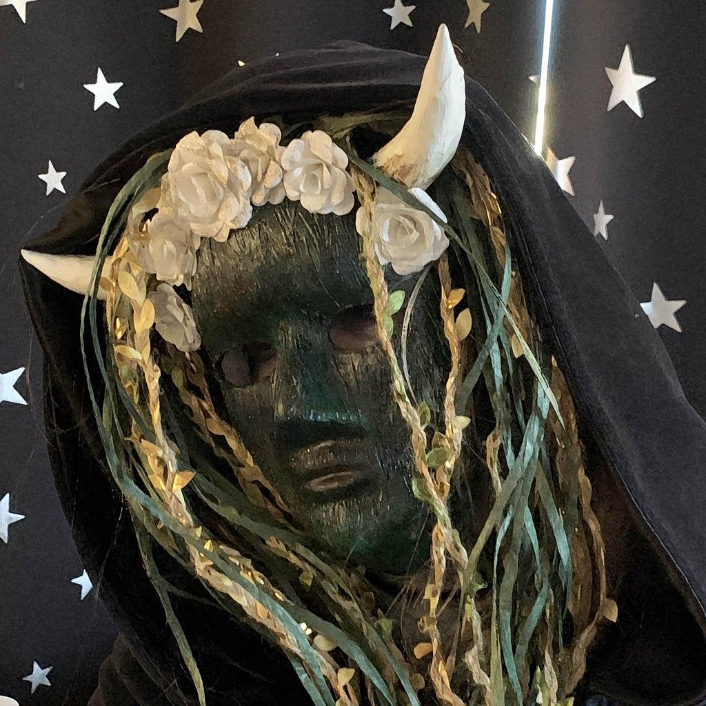 Garden Nymph Halloween Mask