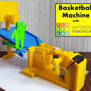 Tinkercad Robotics for School: Basketball Machine!